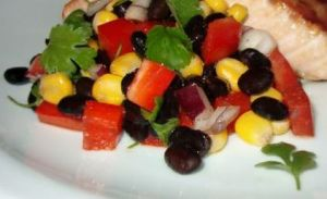 Black beans_corn salad